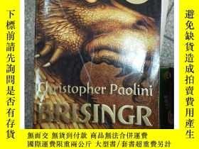 二手書博民逛書店罕見~BRISINGR Trade Pbk《遺產》三部曲之帝國9780375826 Christopher Pao