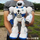 遙控智能編程機器人機械戰警講故事男女孩早教充電動兒童玩具禮物【帝一3C旗艦】YTL