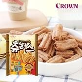 韓國 CROWN 蜂蜜吉拿棒餅乾 84g 吉拿棒餅乾 吉拿棒 餅乾 蜂蜜吉拿棒 零食 點心 韓國餅乾