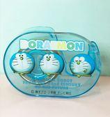 【震撼精品百貨】Doraemon_哆啦A夢~哆啦A夢簡易膠帶台-藍三頭#86262