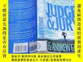 二手書博民逛書店外文書罕見《 Judge &Jury》Y163703