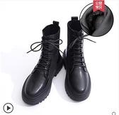 馬丁靴女秋冬季加絨棉鞋秋款網紅百搭女鞋靴子短靴 - 風尚3C