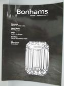 【書寶二手書T6/收藏_PDW】Bonhams Magazine_2018 Winter
