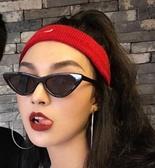 墨鏡FF封帆超個性太陽眼鏡歐美潮流原宿復古墨鏡三角貓眼眼鏡春季新品