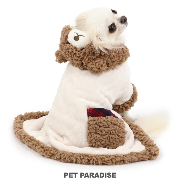 【PET PARADISE 寵物精品】 PP 2020年新款 熊熊懶人毯(3S/SS/S) 寵物衣服 秋冬新品
