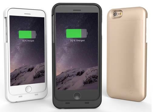 iPhone 6/6S Plus(5.5吋)超薄高容量背殼電池/背夾電池/背蓋電池/MFI蘋果原廠認證單組特價/1360元(含運)