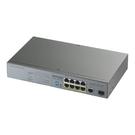 ZyXEL 合勤 GS1300-10HP 監控專用 簡易型 交換器 提供8埠含PoE供電