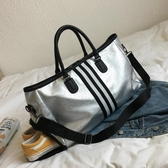旅行包包-短途旅行包女手提大容量行李袋出差旅游登機包鞋位運動健身包女潮 YJT