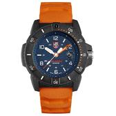 LUMINOX 雷明時NAVY SEAL 3600 海豹部隊腕錶 – 橘藍 / 45mm A3603