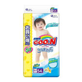 日本境內GOO.N 大王-阿福狗特規增量版黏貼型紙尿褲XL 162片(54x3包/箱)-廠商直送 大樹