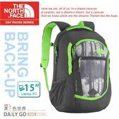 The North Face後背包包 27L15吋筆電包北臉CHJ8-BTB