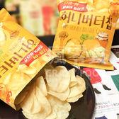 韓國去年賣了1億包.樂天超市上架一天就斷貨!【Calbee 蜂蜜奶油洋芋片】 黃色包裝 D44