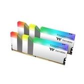 【綠蔭-免運】曜越TOUGHRAM D4 3600 16GB(8G*2)白色 RGB記憶體