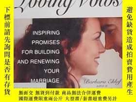二手書博民逛書店英文原版罕見Loving Vows by Barbara Ekl