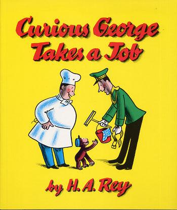 【麥克書店】『小熊媽的經典英語繪本』CURIOUS GEORGE TAKES A JOB /英文繪本