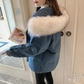 棉服女冬2020年新款潮棉襖韓版寬鬆棉衣女短款面包羽絨棉服季外套