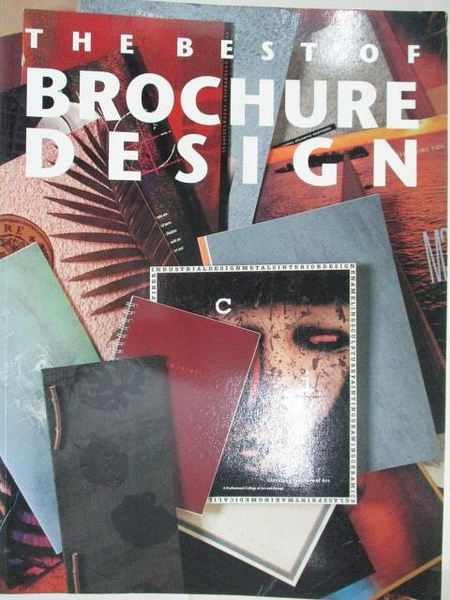 【書寶二手書T9/設計_D6Z】The Best of Brochure Design