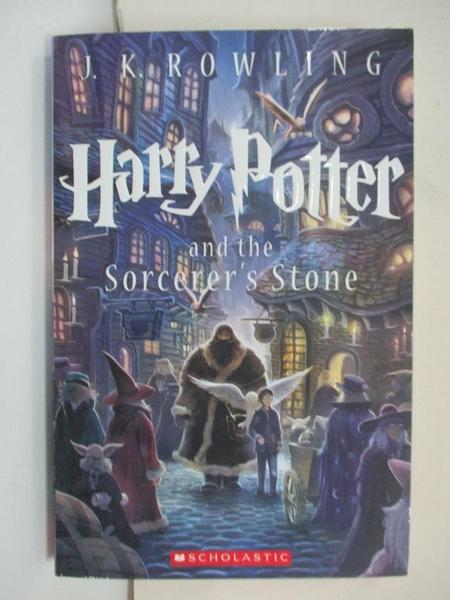 【書寶二手書T1/一般小說_CXU】Harry Potter and the Sorcerer s Stone_J.K. Rowling