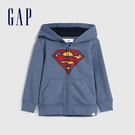 Gap男幼童 Gap x DC正義聯盟系列美國隊長拉鍊連帽外套 617803-藍色