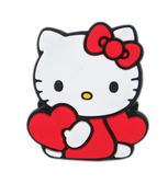 【卡漫城】Hello Kitty 捲線器 ㊣版 日版 Twin Stars 三麗鷗 隨身耳機 集線器 可夾式 mp3