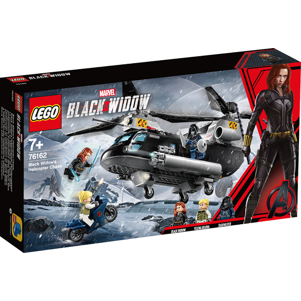 樂高 LEGO Marvel 76162 Black Widow's Helicopter Chase