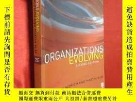 二手書博民逛書店Organizations罕見Evolving ( 小16開 )