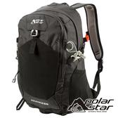 【PolarStar】透氣網架背包28L『黑色』P19803 露營.戶外.旅遊.登山背包.後背包.肩背包.手提包.行李包