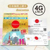 (免運費) EZ Nippon日本通11天吃到飽上網卡(nano) | OS小舖