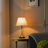 桌燈北歐臥室檯燈床頭燈客廳美式現代簡約溫馨創意輕奢喂奶燈 【ifashion·全店免運】