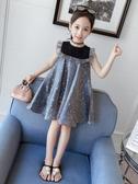 童裝女童連衣裙夏裝2020新款兒童網紅時髦裙子超洋氣小女孩公主裙BLSJ