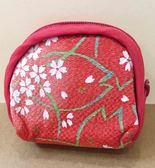 【震撼精品百貨】Hello Kitty 凱蒂貓-零錢包-KITTY和風系列-紅色