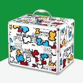 (尾牙交換禮物)創意 卡通可愛家用醫用箱多層全套小號迷你箱嬰兒兒童寶寶藥箱