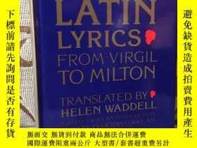 二手書博民逛書店More罕見Latin Lyrics from Virgil to Milton -- 《拉丁詩歌集》拉丁語與英語