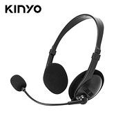 【KINYO 耐嘉】EM-2103 經典耳機麥克風