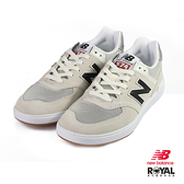 New Balance 新竹皇家 574 米灰色 網布 麂皮 拼接 休閒鞋 男女款 NO.B0538