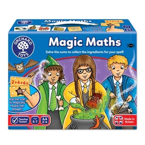 【英國 Orchard Toys】兒童桌遊-數學加減 數學魔法 OT-092 Magic Maths Game