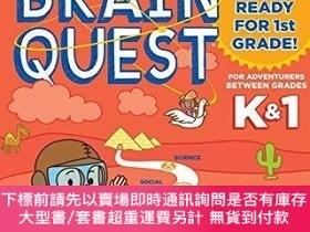 二手書博民逛書店Summer罕見Brain Quest: Between Grades K & 1Y454646 Workma