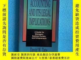 二手書博民逛書店Accounting罕見And Its Legal ImplicationsY261601 david W.t