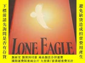 二手書博民逛書店Lone罕見Eagle: A Novel(英文原版)Y27194