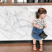 女童牛仔裙 女寶寶牛仔短裙半身裙嬰兒牛仔裙 珍妮寶貝