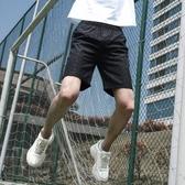 快速出貨 短褲男士夏季 運動工裝沙灘天中褲子休閒寬鬆潮七分5五分褲