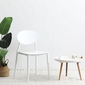 北歐ins椅子網紅椅現代簡約懶人家用化妝梳妝靠背凳子宿舍書桌椅