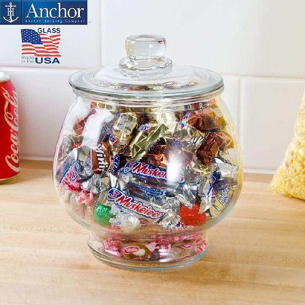 美國安佳 anchor 小高腳儲物罐 玻璃罐