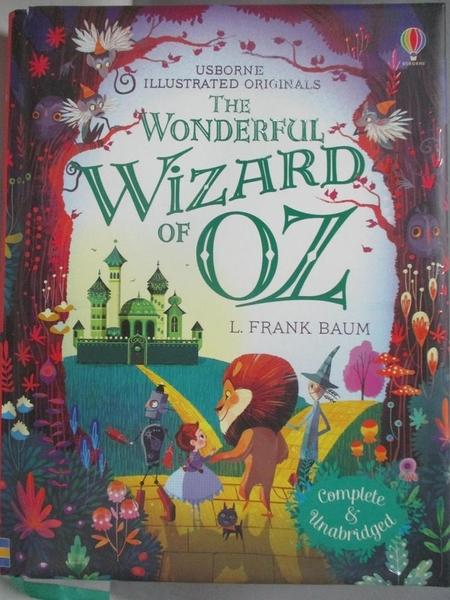 【書寶二手書T1/兒童文學_AK3】The Wonderful Wizard of Oz_L. Frank Baum