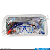 成人用面鏡+呼吸管組 (多色可選) CO-YA241111P【AROPEC】