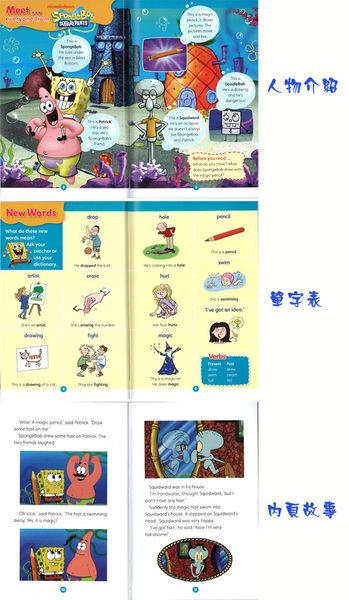 POPCORN READERS : SPONGEBOB SQUAREPANTS: DOODLEBOB  L3/書+CD
