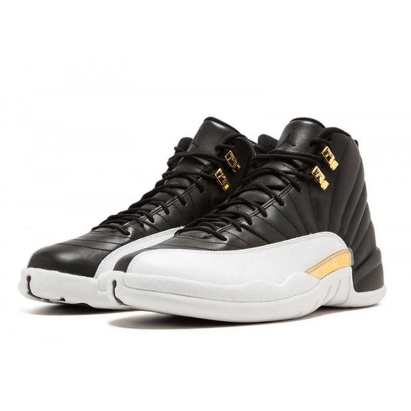~[TellCathy]NIKE Air Jordan 12 Wings 白黑 金扣 男 848692-033