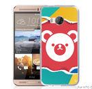 ✿ 3C膜露露 ✿【熊熊*立體浮雕硬殼】HTC ONE ME手機殼 手機套 保護套 保護殼