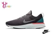 NIKE odyssey React 慢跑鞋 男款 透氣 避震 運動鞋 O7202#灰綠◆OSOME奧森鞋業