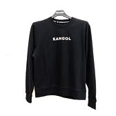 KANGOL 中性字LOGO黑色大學T-NO.6952100420